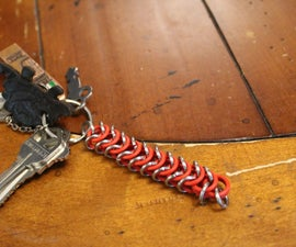 Chainmail and O-ring Keychain