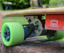 How to build an electric Longboard with phone control
