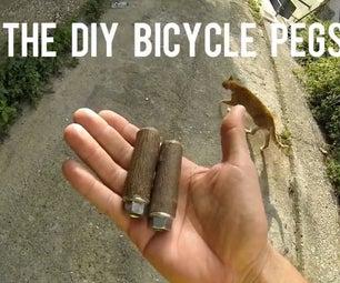 DIY Bicycle Pegs