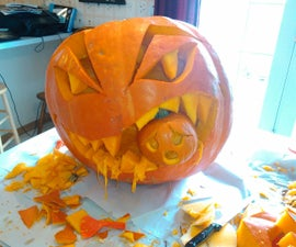 Chomper the Cannibal Pumpkin