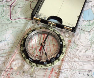 How to Navigate with a Map and Compass