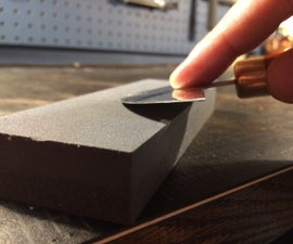 Sharpening a Leather Knife