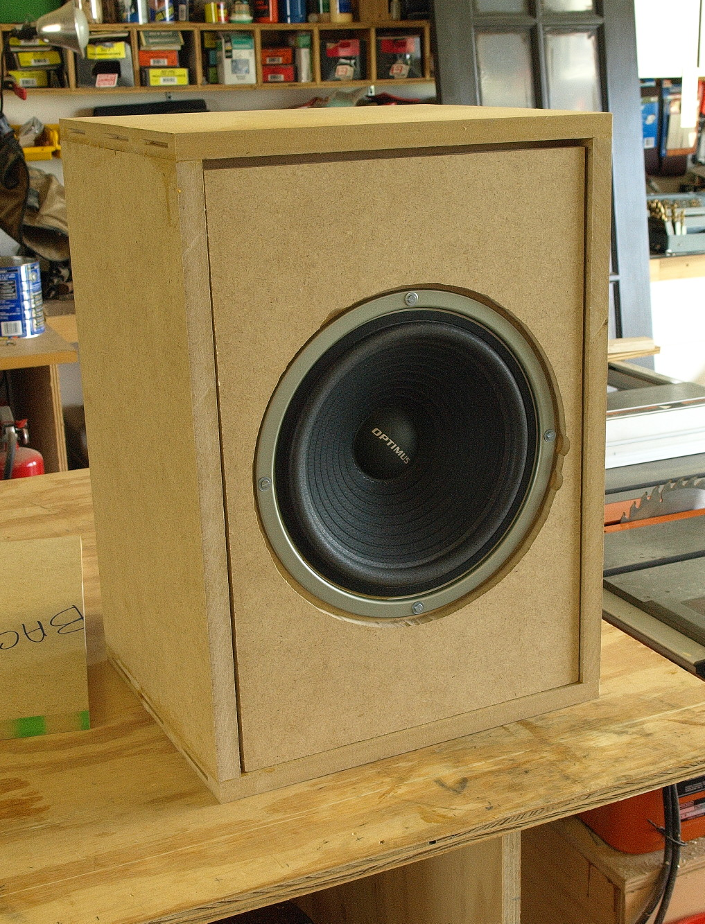 Picture of Mounting the Speaker