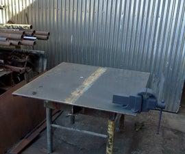 BackBone Fabrication / Grinding Table