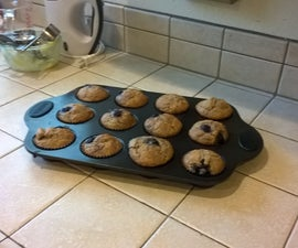 Step by Step Blueberry Muffins