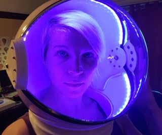 LED Space Helmet - 2019 Update