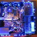 Custom Desktop Computer Lighting
