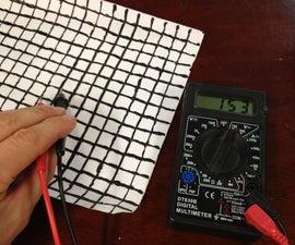 Estimate pi using conductive paint