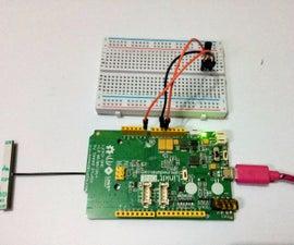 LinkIt One Temperature Monitor