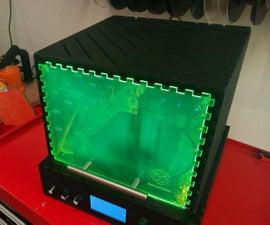 Post-curing Box for SLA 3D Prints