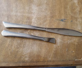 Soft Masonry Chisels From Cutlery