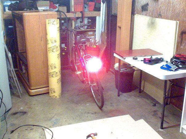 Picture of Kilo-Lumen Bike Headlight