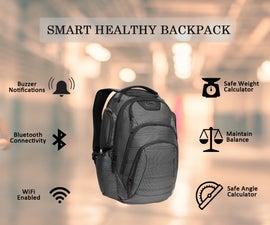 Smart Healthy Backpack