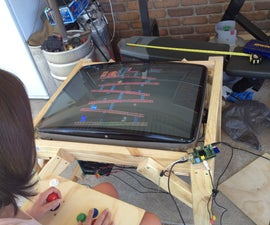 Turn an old CRT Television into a Raspberry Pi Powered MAME Cocktail Cabinet