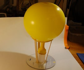 CD and Balloon Hovercrafts Engineering Challenge