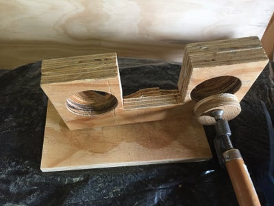 Gluing and Varnishing