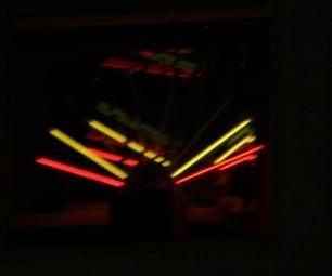 Light Show Window Art