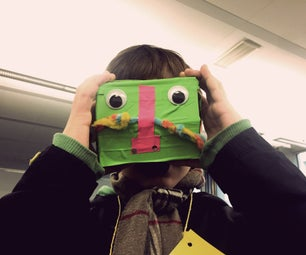 How to Make Cardboard Glasses for 360 Videos