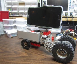 DIY Motorized LEGO Camera Dolly
