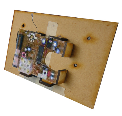 Picture of Mounting the Circuit Board