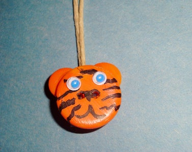 Button Animal Necklace