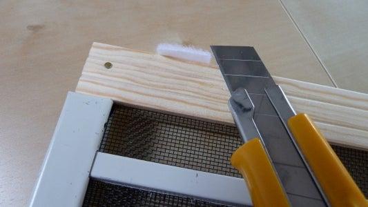Attach and Trim the Velcro