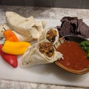 World's Easiest Vegan Burritos