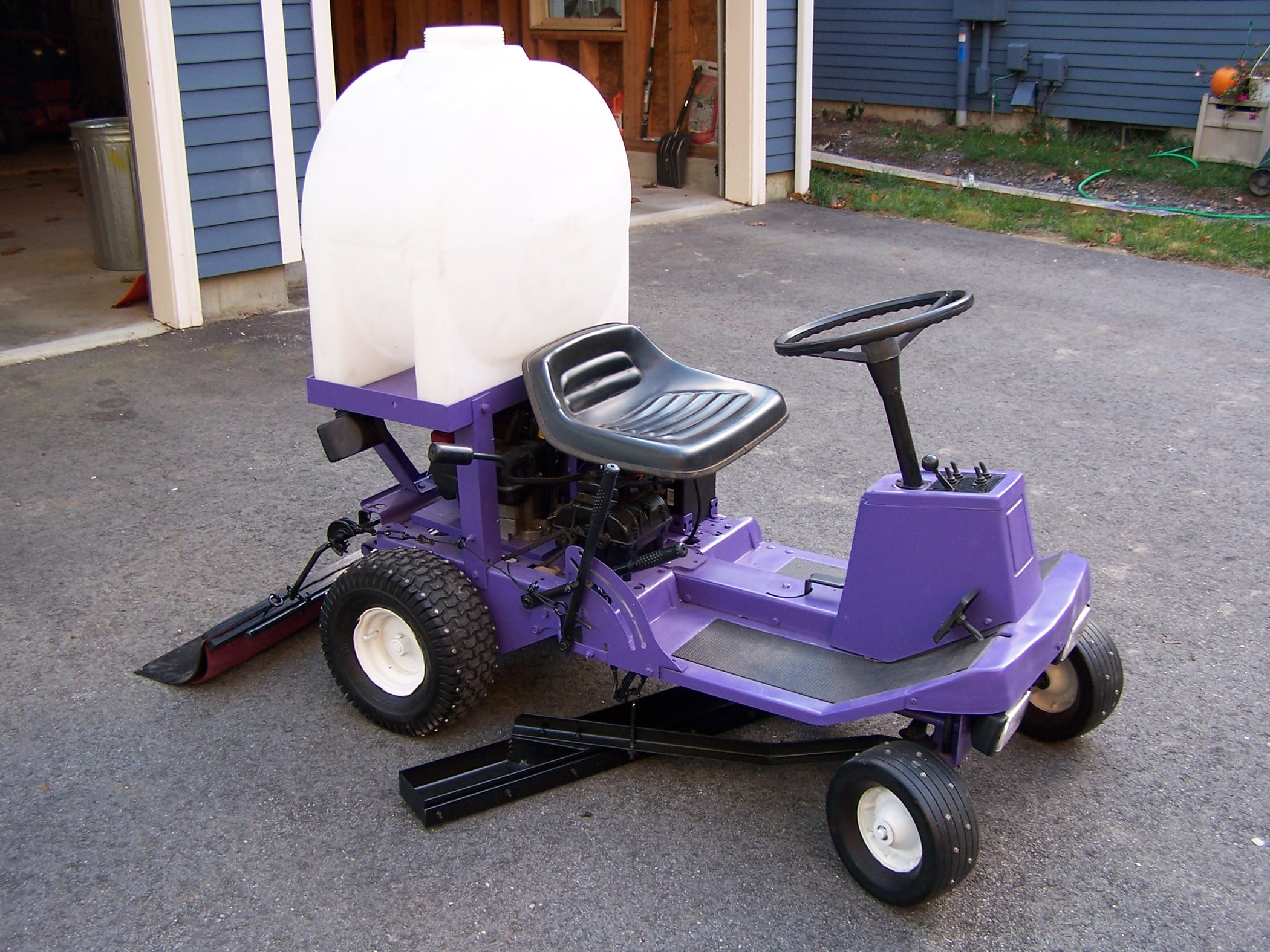 Redneck Backyard Zamboni Ice Resurfacer (with Pictures)