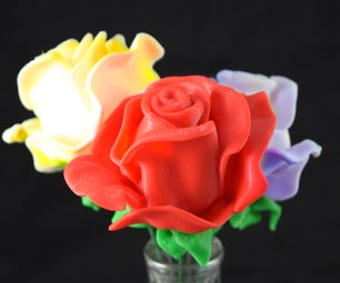Spline Modeling Flower Blossoms in 3DS MAX for 3D Printing