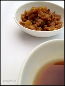 Ginger Syrup and Candied Ginger
