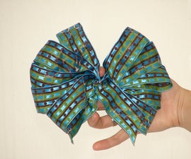 How to make a decorative wedding bow