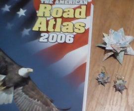 Recycled Atlas Earings