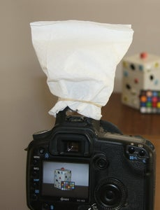 Attach It to Your Flash (built in or Strobe)