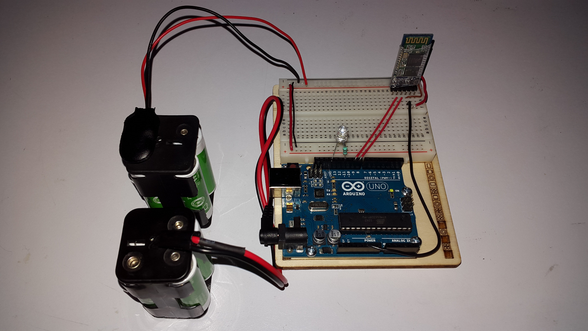 Picture of LED Intensity With Arduino and PC