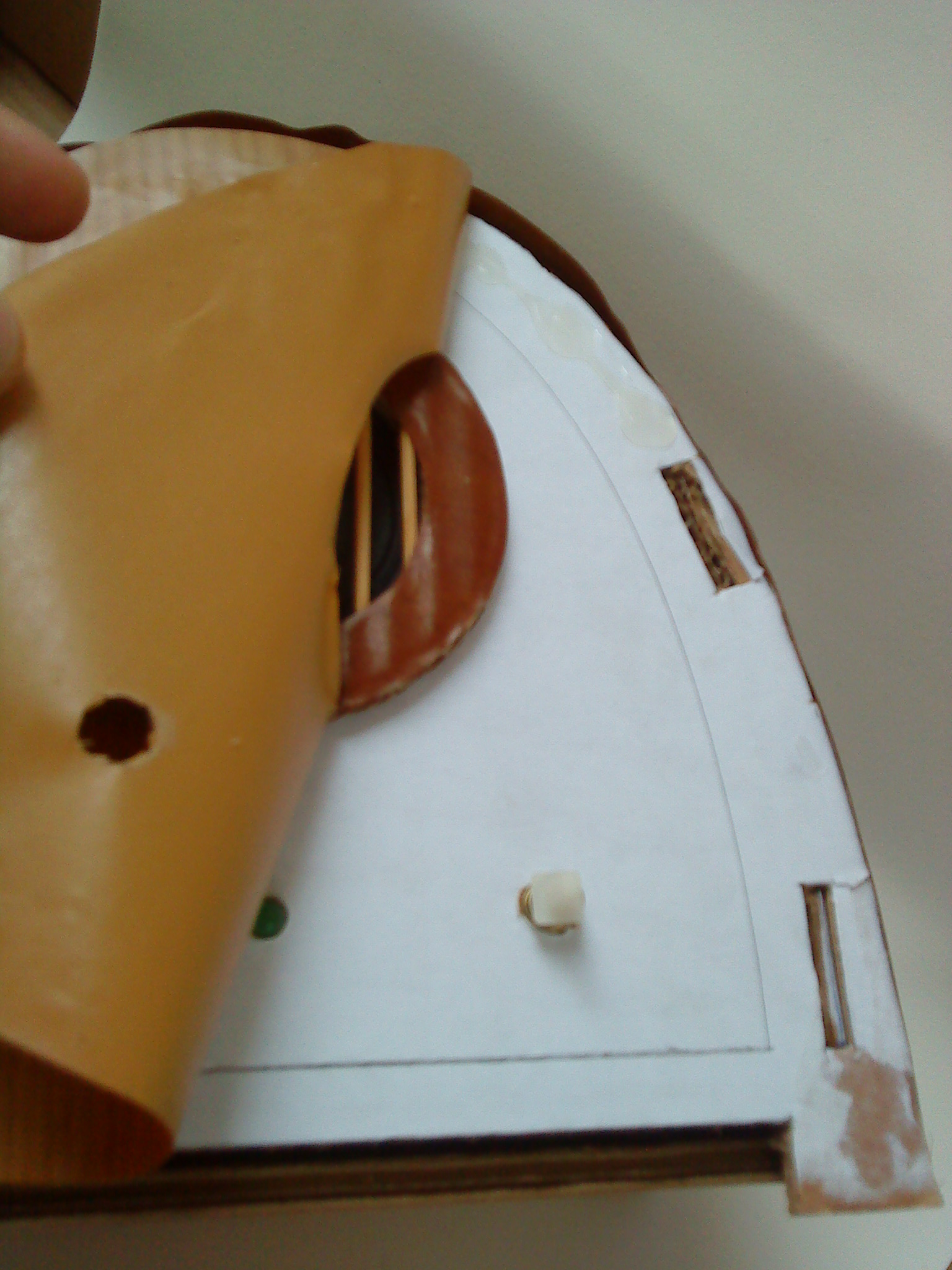Picture of Pasting the Contact Paper