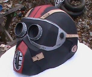 How to Make a Borderlands Bandit Thug Helmet