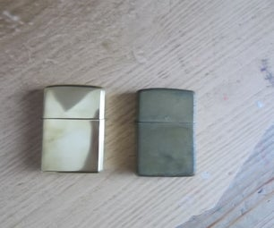 Cleaning a Zippo