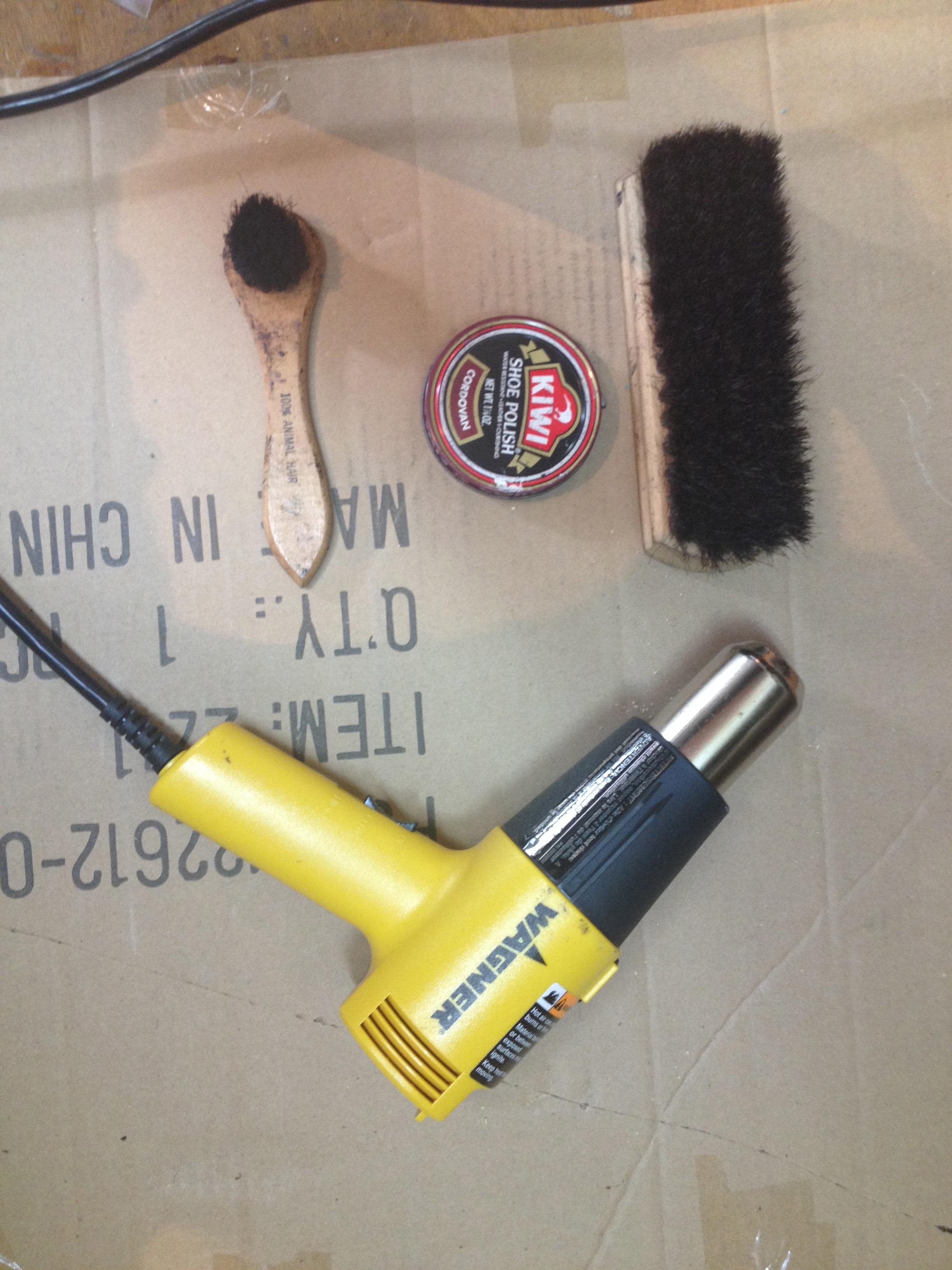 Picture of Shoe Polishing Hack: Use a Heat Gun
