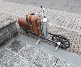Custom Retro Electric Motorcycle