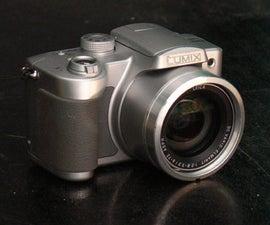 Repair Stuck Lens on Panasonic FZ5
