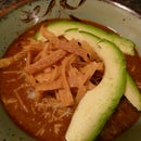 Not for the Faint of Heart Tortilla Soup