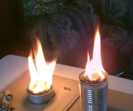 """TIN CAN Air Heaters! - Survival/SHTF Air Heater/Stove - Simple """"cardboard and Wax"""" Design"""