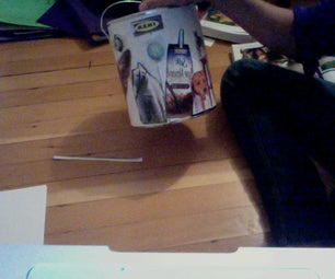 Make a Recycling Bin From a Paint Can