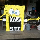 Old Sponge Bob into new sign