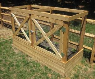 Deer-Proof Raised Garden Beds