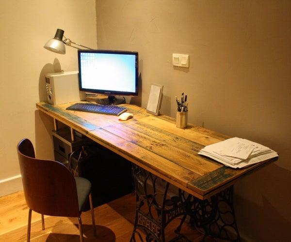 Old Style Pallet Desk