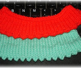 How to knit a Picot Edge