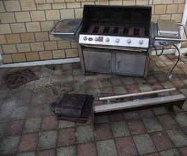 BBQ Refurbish Before and After