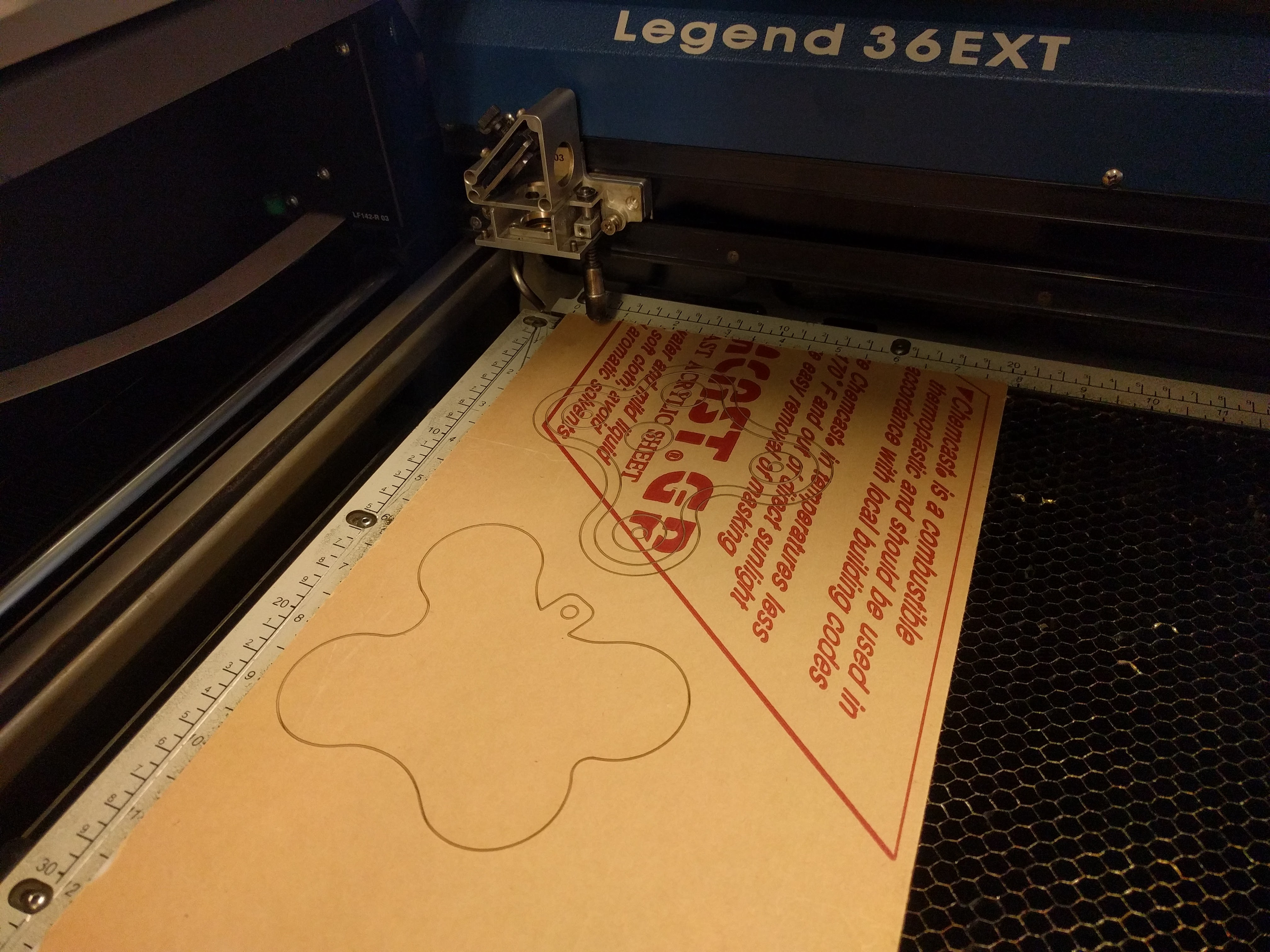 Picture of Laser Cutting, Glue Up, and Sanding, and Priming