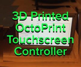 OctoPrint Touchscreen Controller